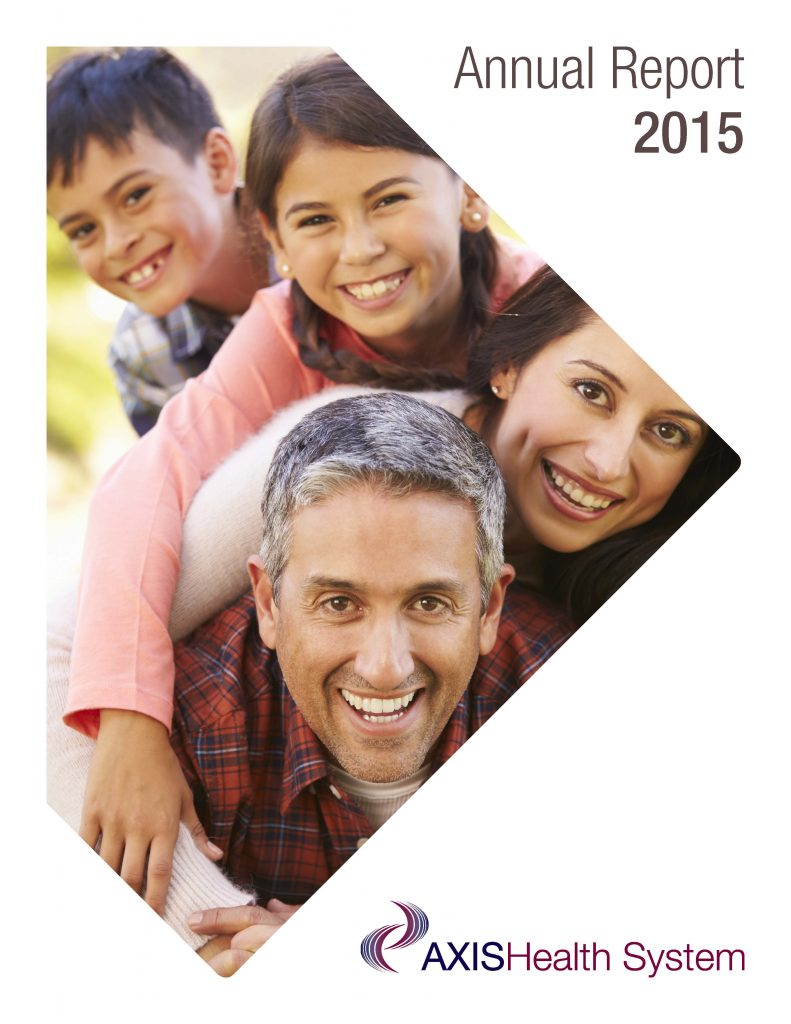 2015 Axis Health System Annual Report