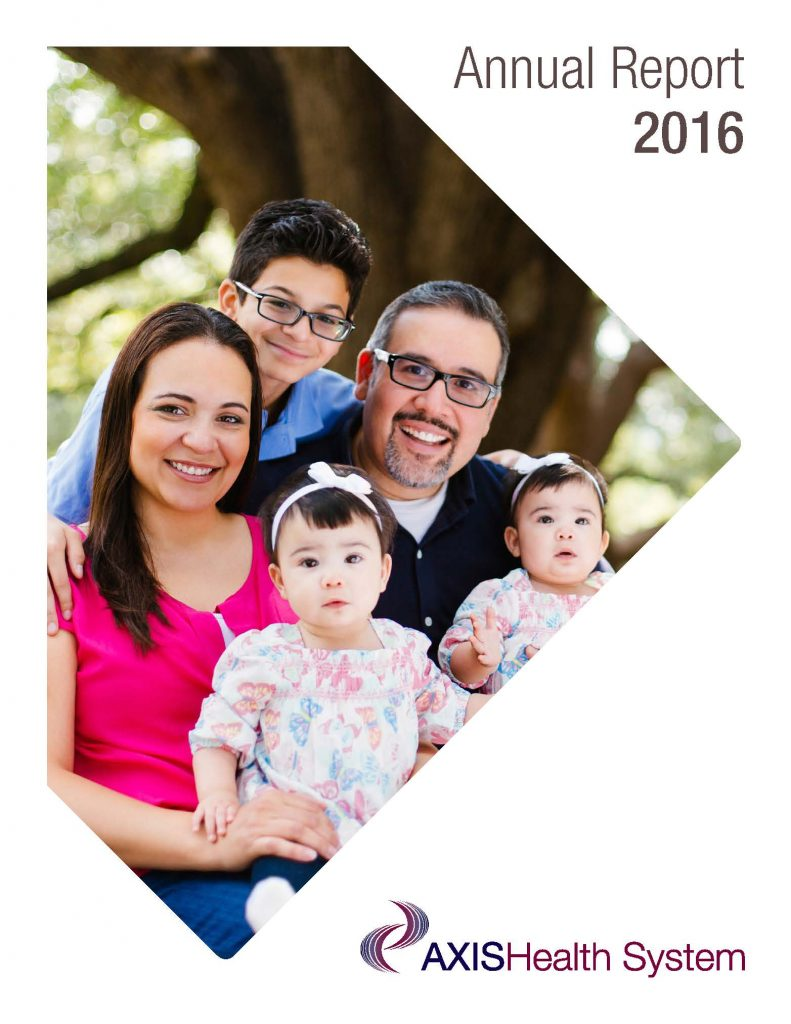 2016 Axis Health System Annual Report