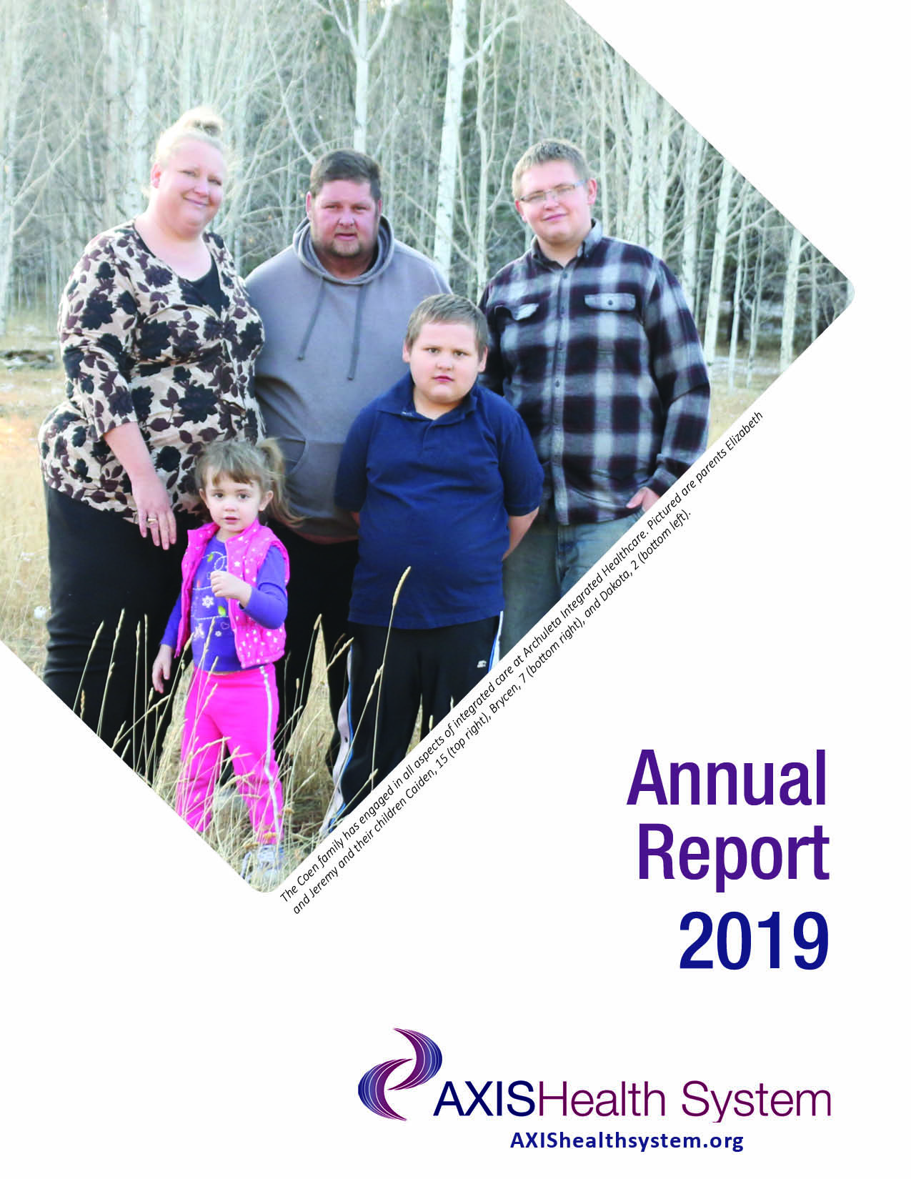 2019 Axis Health System Annual Report