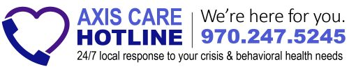Axis Care Hotline is part of our behavioral healthcare