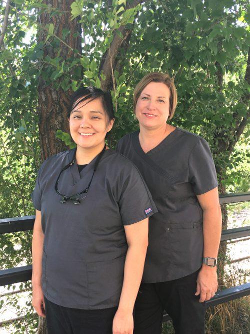 Dental hygienists at La Plata Integrated Healthcare