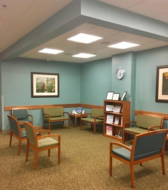 Lobby of La Plata Integrated Healthcare