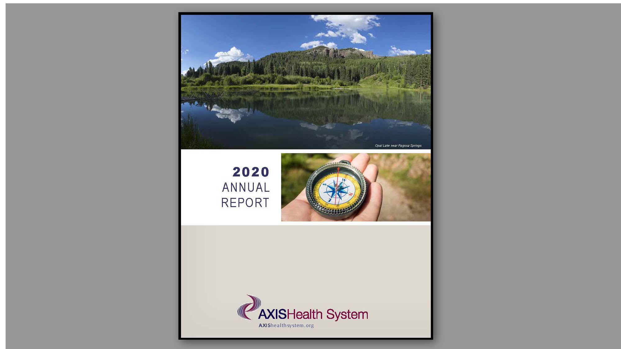 2020 Annual Report Axis Health System