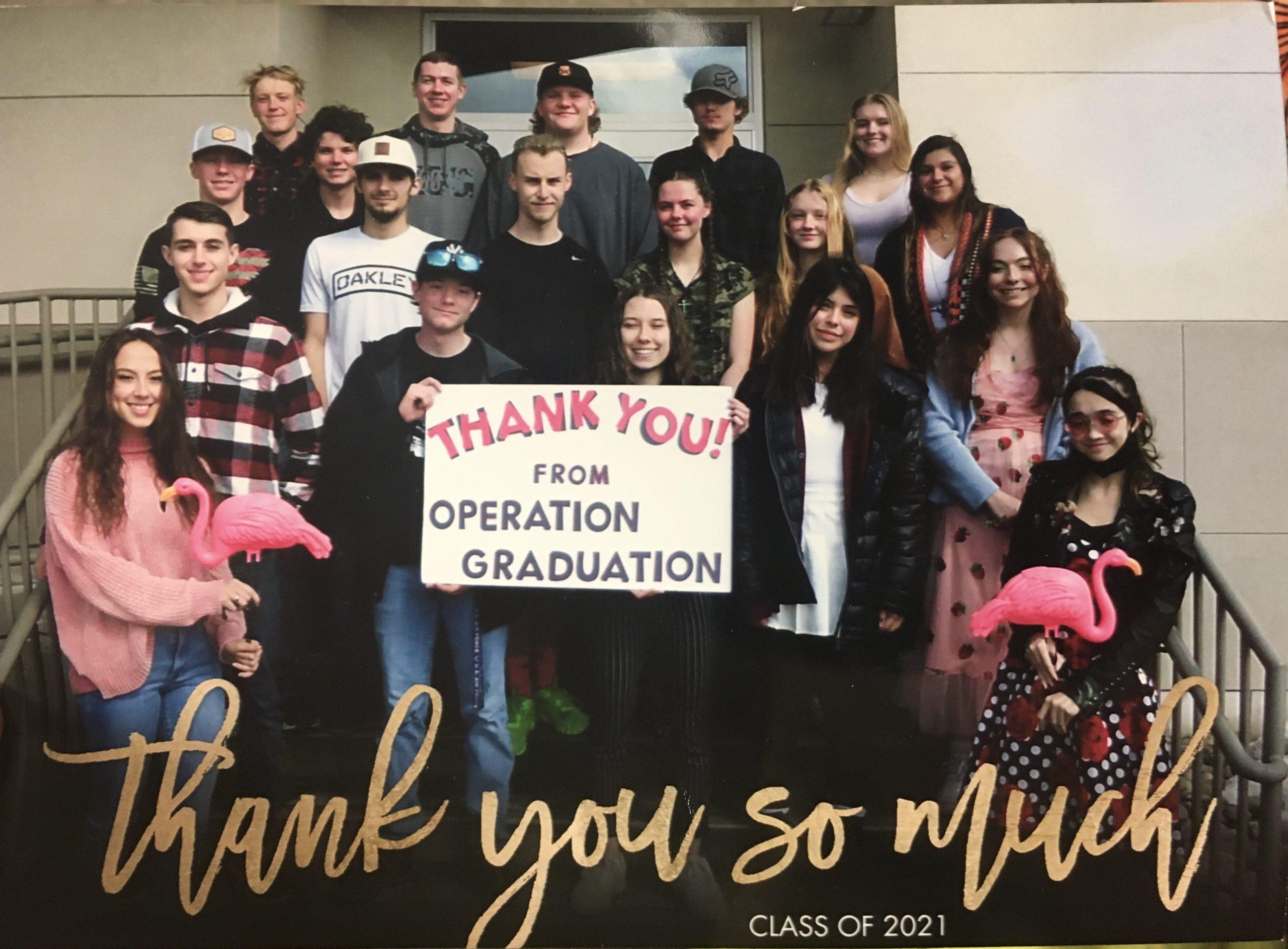Operation Graduation 2021
