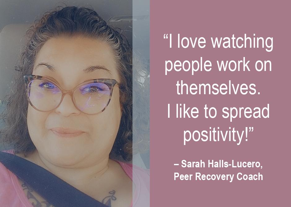 Admin Cameo: Meet Sarah Halls-Lucero